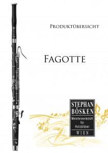 Katalog Fagotte