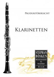 Katalog Klarinetten